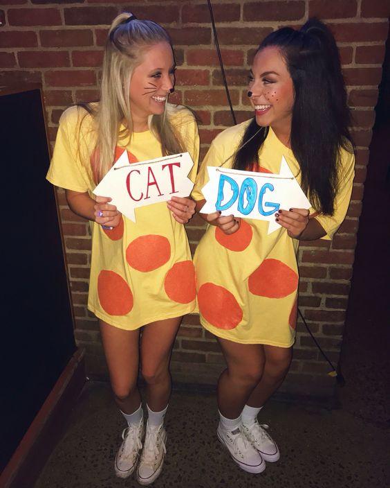 Cat Dog Costume.