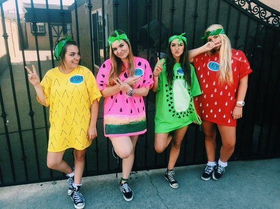 Fruit Halloween Costume.