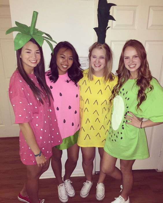 Fruit Halloween Costume.