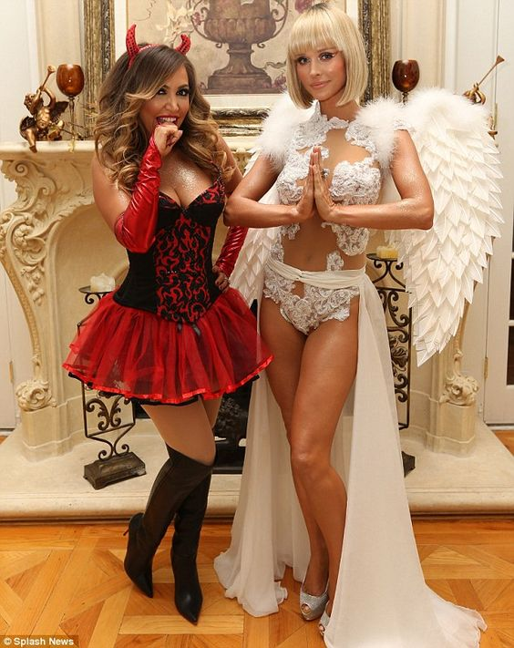 Angel and Devil Costumes.