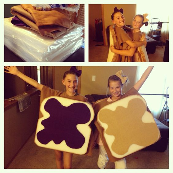 Peanut Butter And Jelly Costume.