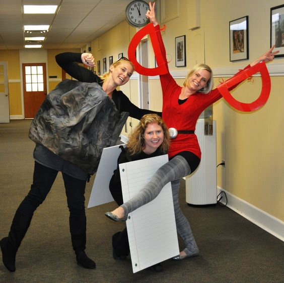 Rock Paper Scissors Costume.