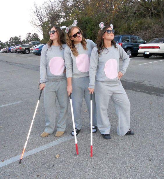 Three Blind Mice Costumes.