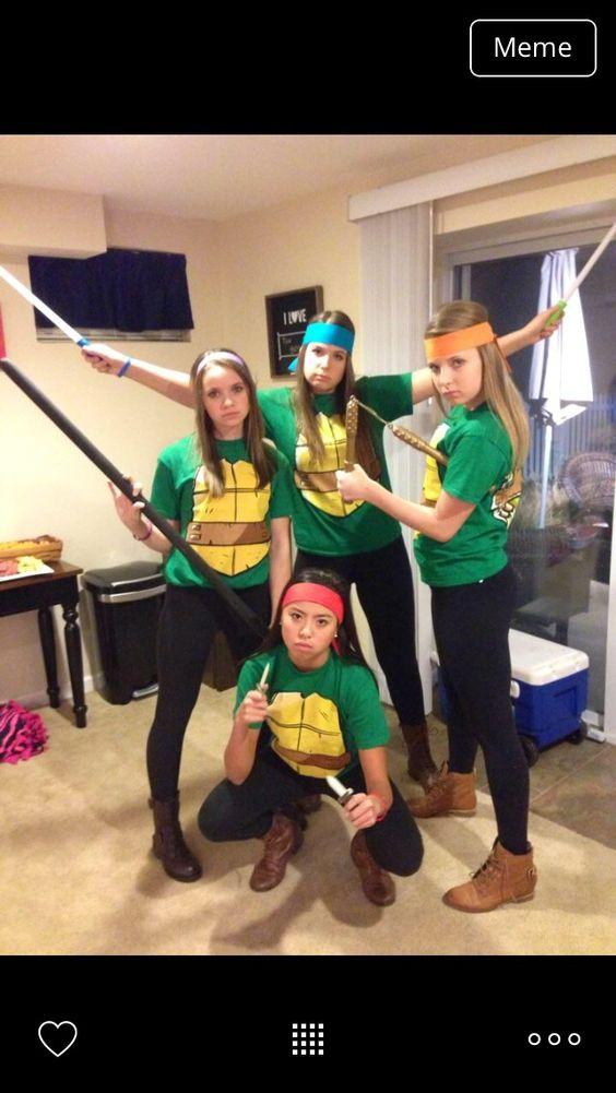 Ninja Turtle Costumes for Girls.