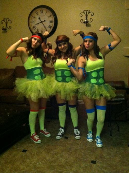 Ninja Turtle Costumes For Girls