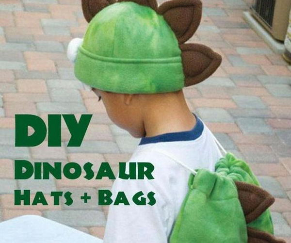20 Homemade Dinosaur Costumes For Halloween