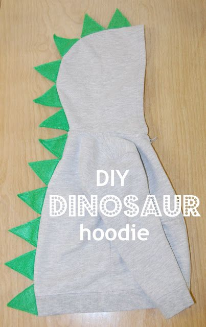 20 homemade dinosaur costumes for halloween dinosaur hoodie sweatshirt solutioingenieria Choice Image
