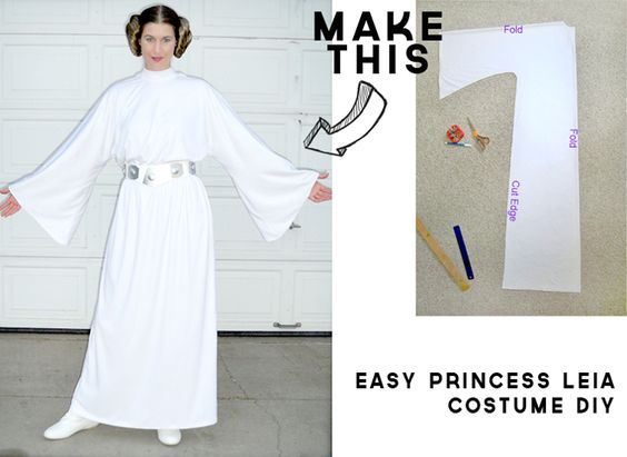 50 last minute costumes for halloween diy princess leia costume solutioingenieria Image collections