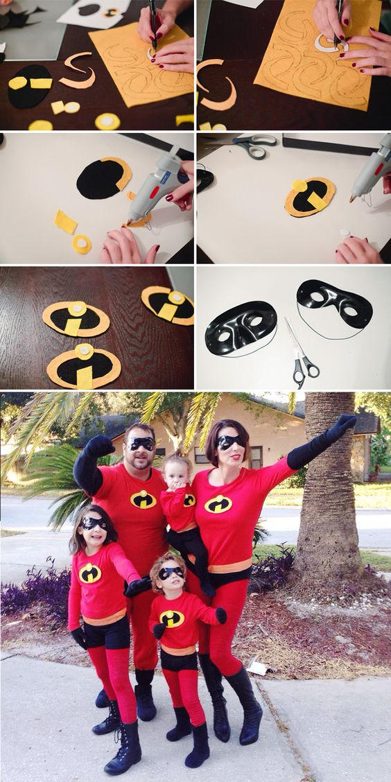 The Incredibles Family Costume.
