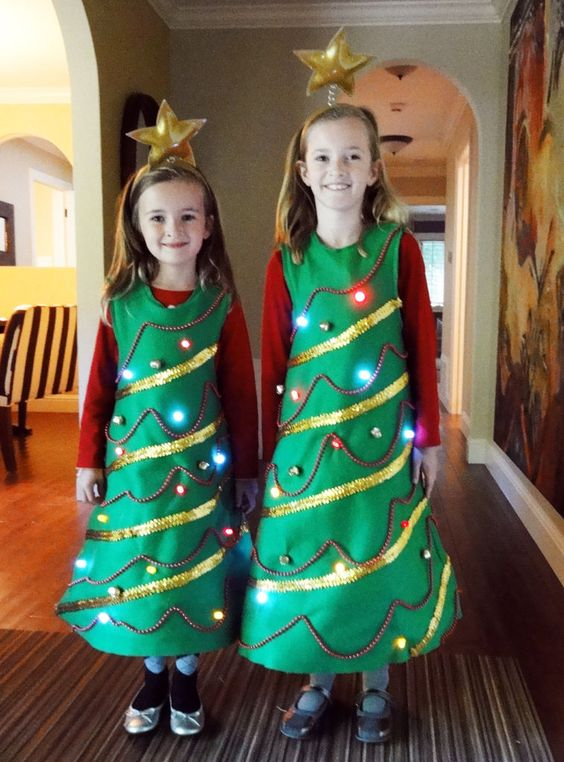 50 last minute costumes for halloween diy christmas tree costume solutioingenieria Images