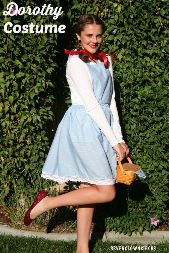 Dorothy Costume.  sc 1 st  OFriendly & 50+ Last Minute Costumes for Halloween