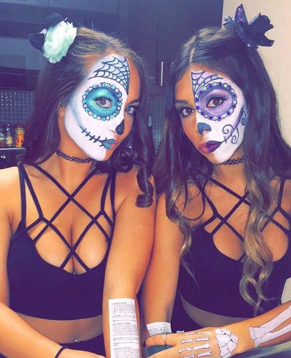 Sugar Skull Costumes.