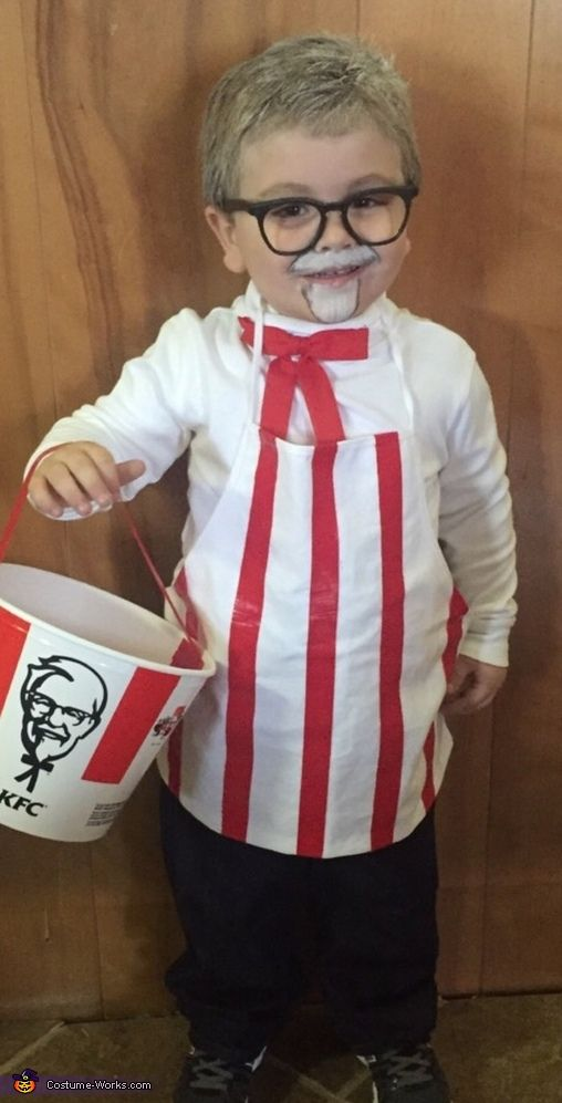 KFC and Chicken Costume  sc 1 st  OFriendly & 50+ Last Minute Costumes for Halloween