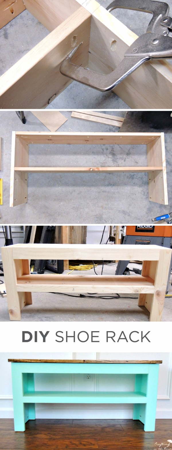 Shoe Storage Bench.