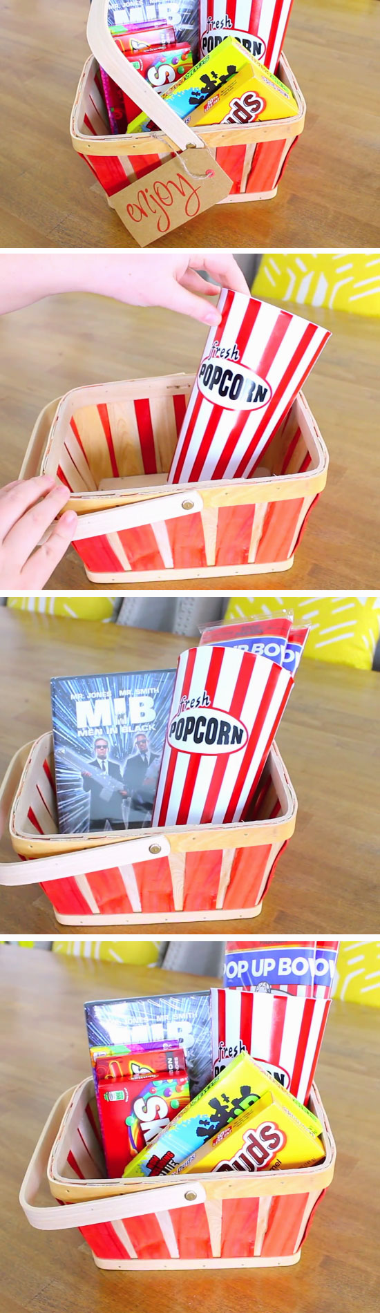 Movie Night Hamper.