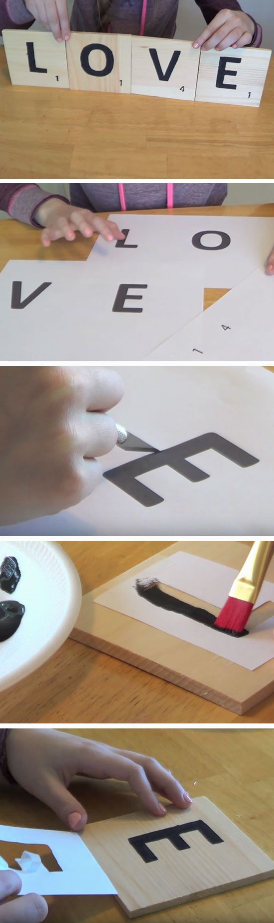 Scrabble Letters.